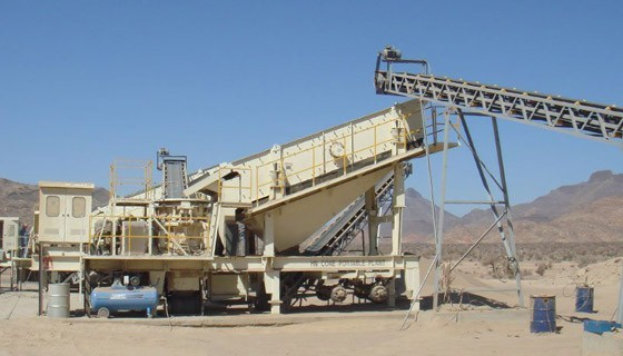 Sand Making & Shaping Portable Plant