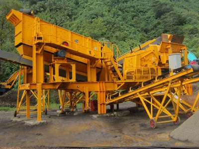 Gravel/Sand Crushing Plant