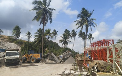 Aimix 200t/h Stationary Crusher Plant Was Delivered To Sri Lanka