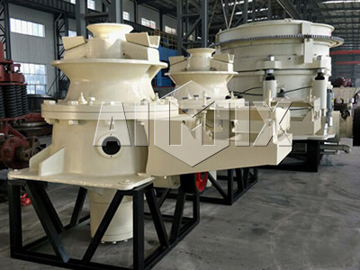 Aimix Single Cylinder Hydraulic Cone Crusher