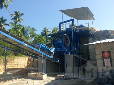 Aimix 250t/h Crusher Plant in Sri Lanka