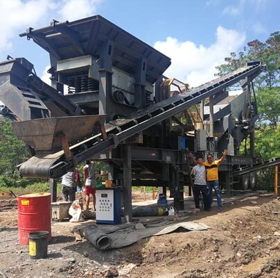 Aimix 50 t/h Crusher Plant in Thailand