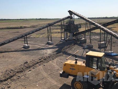 Aimix Stone Crushing Plant in Uzbekistan