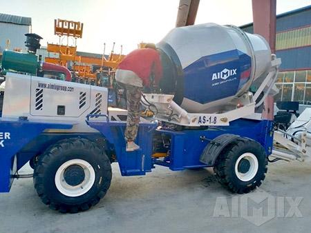 Aimix Self Loading Concrete Mixer & Concrete Trailer Pump in Manila Philippines