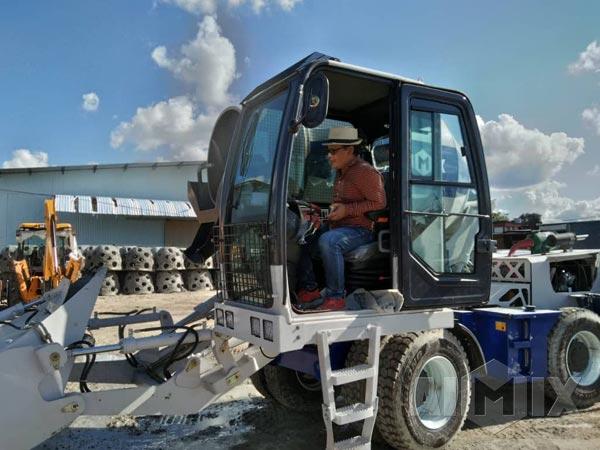 Aimix AS-3.5C Self Loading Concrete Mixer In Malaysia