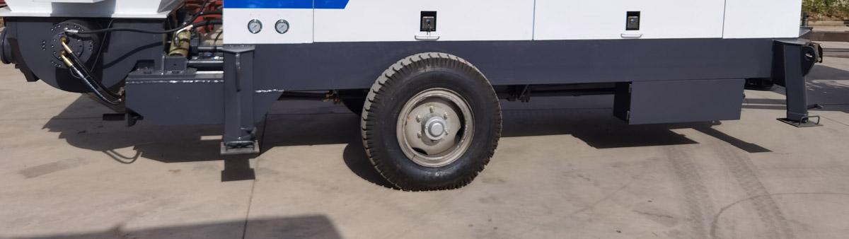 Aimix Diesel Concrete Trailer Pumps Were Delivered To Russia
