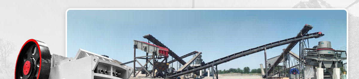 Jaw crusher in sand and gravel production line