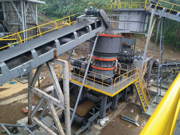 Single Cylinder Cone Crusher: