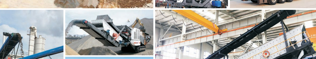 cases of Aimix mobile crusher plant