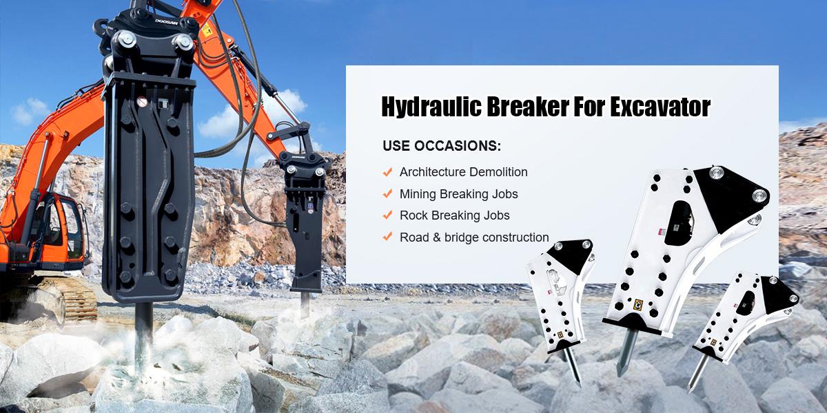 Hydraulic breakers for sale